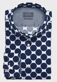 Maxi Dots Hemd Blau