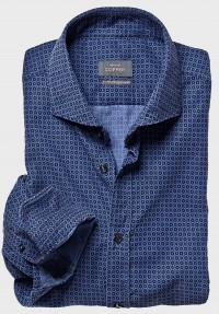 Babycord Hemd Blau