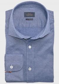 Jersey Hemd Blaumélange