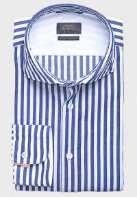 Sommer Streifen Royalblau