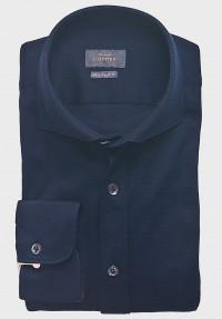 Jersey Hemd Dunkelblau