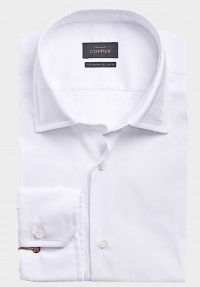 STRETCH Hemd weiß