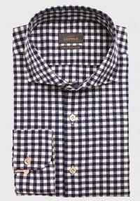 Karo Hemd Blau Weiß