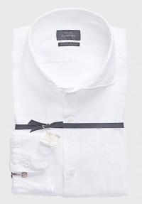 Leinen Sommer Hemd Weiß