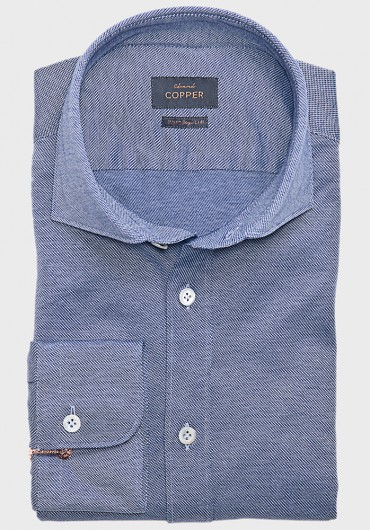 Jersey Hemd Blau