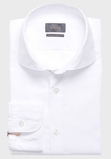 Oxford Hemd Weiß