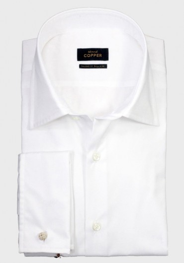 TWILL Hemd Weiß