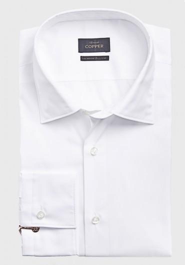 Twoply Hemd Weiß