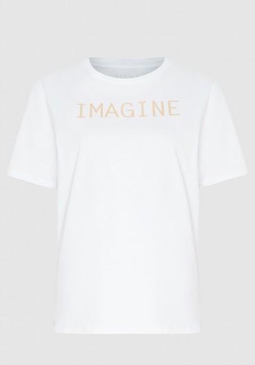 T-shirt weiss imagine