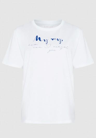 T-shirt weiss my my
